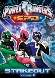 power rangers s p d