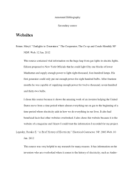Annotated Bibliography Thomas Edison Wikipedia