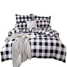 tealp buffalo plaid bedding set queen