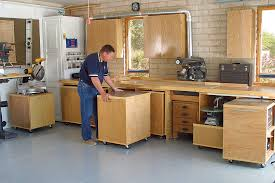 Cabinets For Workshop Roll Away Workshop Startwoodworkingcom