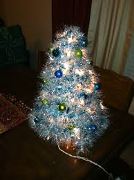 This is made from wire coat hangers wrapped with tinsel.