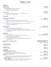 Resume On Microsoft Word Resume Templates