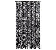 damask shower curtain 2018 grey curtains