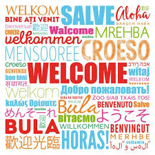 ᐈ Welcome in multiple languages stock vectors, Royalty Free welcome languages illustrations | download on Depositphotos®