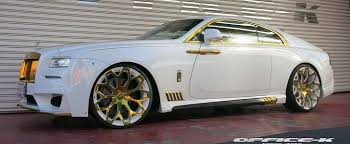 rolls royce wraith white and black. white rollsroyce wraith with gold accents from officek is an eyesore autoevolution rolls royce and black