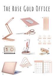 beautiful office supplies. rose gold desk accessories scissors stapler pens beautiful office supplies