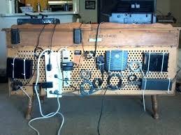 posh under desk cable management photos hacker challenge winner the pegboard organizer table tray box desktop