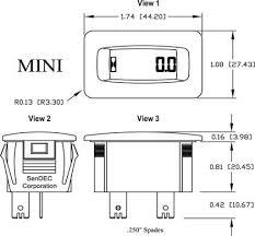 newgen lcd hour meters hour meters global digtial instruments Hour Meter Wiring Diagram Hour Meter Wiring Diagram #55 hour meter wiring diagram