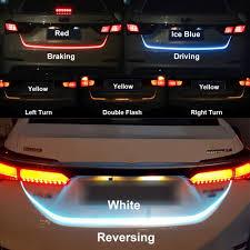 Sitaile Auto Led Strip Verlichting Kofferbak Achterlicht Dynamische