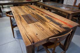 recycled wooden furniture. Recycled Timber Dining Tables Furniture With Wooden