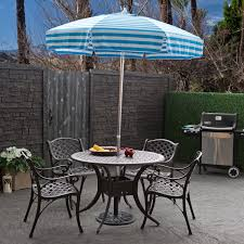 california umbrella paa ft striped pacifica patio outdoor table
