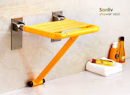 handicapped and elder handicap fold down shower seat