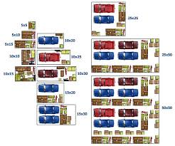 Visual Size Guide For Your Next Self Storage Unit By