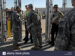 Arizona Correctional Officer Soldiers From The 850th Military Police Battalion From The Arizona