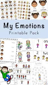 When a child is 2 years old he can easily color pictures with small details. Feelings Activities Emotions Worksheets For Kids Fun With Mama
