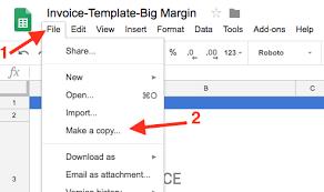google templates google docs invoice template docs sheets invoice simple