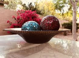 Decorative Glass Balls For Bowls Bronze glass bowl with 100 decorative glass balls Household in 29