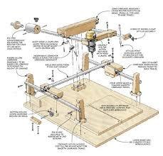 router pantograph plans. carving duplicator | woodsmith plans router pantograph n