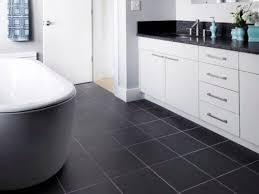 white cabinets with black tile floor kitchen dining black kitchen floor tile