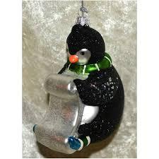 Christbaumschmuck Verrückte Weihnacht Pinguin Landmücke