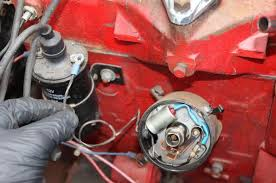 how to convert your willys f 134 from points to electronic ignition 6 volt positive ground coil wiring at Ford Flathead 6 Volt Coil Wiring