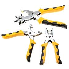 punch plier leather belt hole punch eyelet s tool kit with parts cod punch pliers home