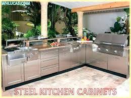 Outdoor Kitchen Cabinets Stainless Steel Cabinet Doors