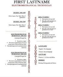 Resume Template Open Office Beauteous Resume Template Open Office Inspirational Resume Templates For
