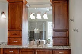 bathroom counter storage tower. bathroom vanity linen tower counter storage
