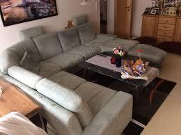 Wohnlandschaft Couch In U Form Hellgrün In 91757