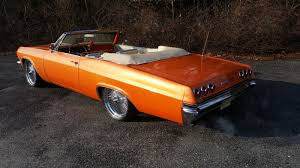 1965 CHEVY IMPALA SS CONVERTIBLE AIR BAGS 22'S RESTORED SUPER ...