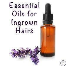 essential oils for ingrown hairs with