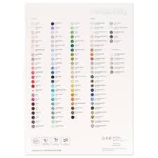 Colour Chart Swarovski Elements 2018 Chatons
