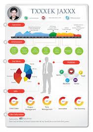 Timeline Resume Builder New Infographic Resume Resume Template