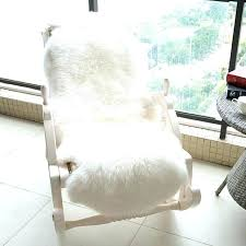 large white fur rug big size sheepskin for rocking chair winter beige gy furry rugs