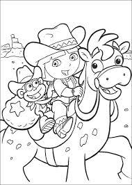 Kids N Funcouk Coloring Page Dora The Explorer 2 Dora The Explorer 2