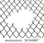 chain link fence background. Brilliant Fence Cut Wire Fence White Background With Chain Link Fence Background W