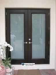 glass front door privacy front entry doors