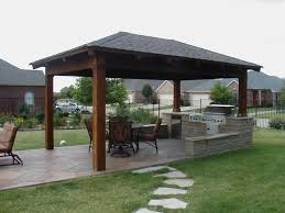 Plans For Outdoor Kitchens Free Standing Patio Cover Designs 228 Pictures Photos Images