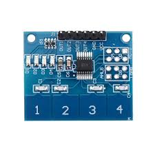<b>TTP224 4CH Channel</b> Capacitive Touch Switch Digital Touch ...