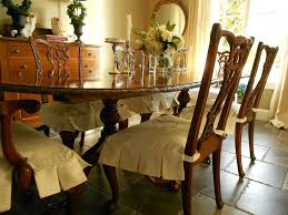 seat covers for elegant dining room chairs and table