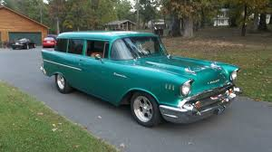 All Chevy 1957 chevy wagon for sale : 1957 chevy 2 door handyman wagon, rare, 350, auto, ultraleather ...
