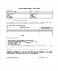 Cleaning Proposal Template Office Cleaning Cleaning Bid Template Planet Surveyor Com