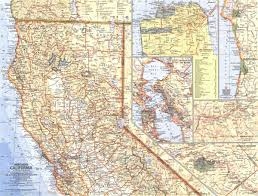 national geographic northern california map   mapscom