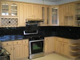 87 astonishing black glass tile backsplash home design