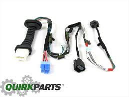dodge ram 1500 2500 rear door wiring harness right or left side oem genuine mopar part 56051931ab this oem factory new rear left or right door wiring harness