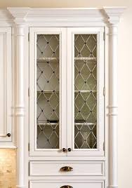 stained glass cupboard doors enlarge cabinet for