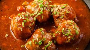 Berlin Marketplace - Recipe: Sweet and Sour Meatball Bites