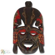 african wooden mask kissing mask small african attitude africa 24
