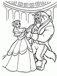 Small Picture Printable Beauty and the Beast Coloring Pages Coloring Me